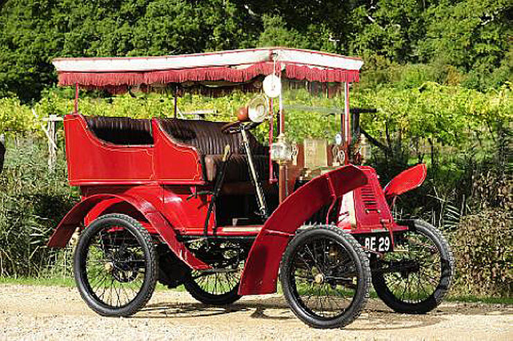 1901 Renault 4½hp Type D Rear-entrance Tonneau