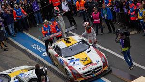 #23, Mercedes-Benz SLS AMG GT3 , 24h-Rennen Nürburgring 2013