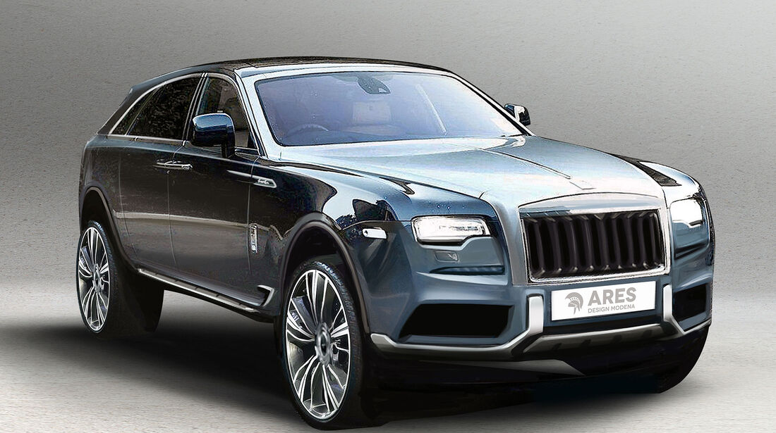 Ares Concept Rolls-Royce Ghost