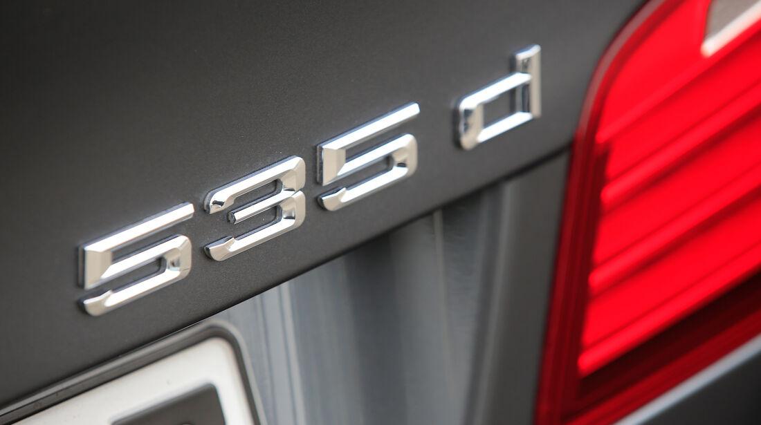 BMW 535d, Typenbezeichnung