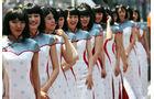 Grid Girls - Formel 1 - GP China - 14. April 2013