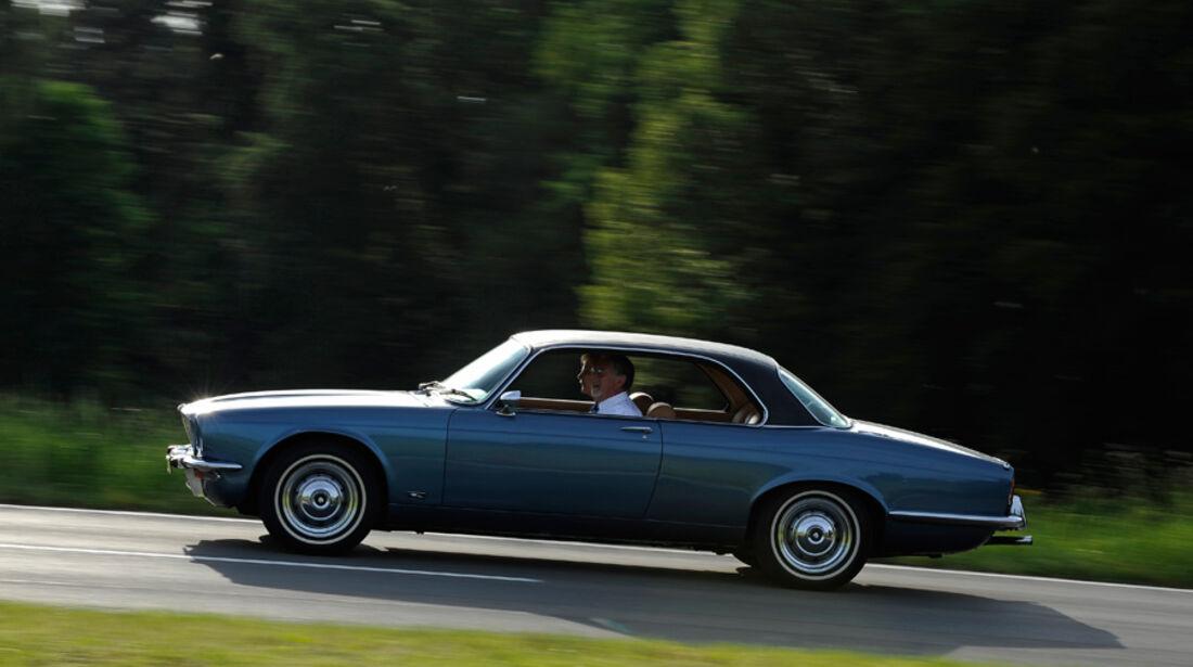 Jaguar XJ 6, Seitenansicht