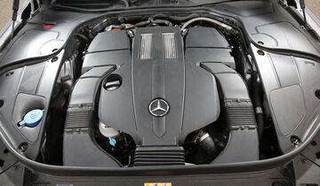 Mercedes S 500 e, Motor