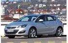 Opel Astra, Seitenansicht