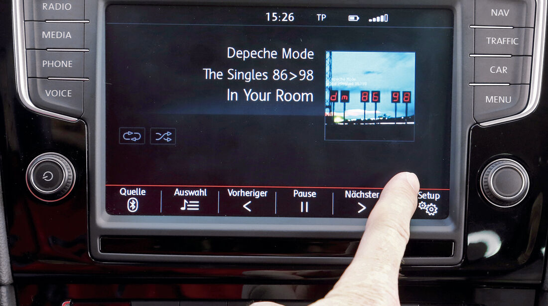 VW Golf, Audio