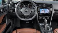 VW Golf, Cockpit