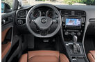 VW Golf, Cockpit
