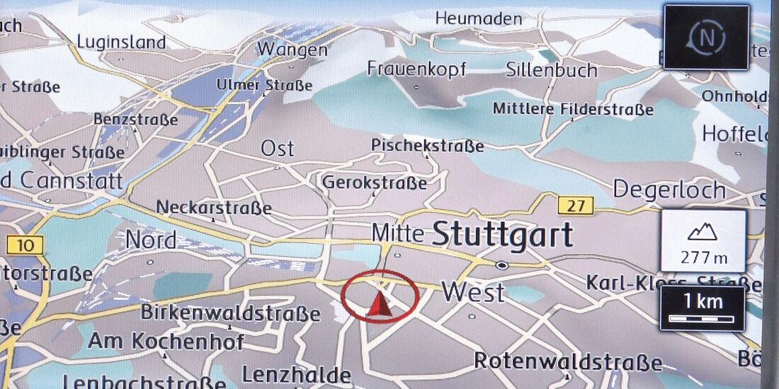 VW Golf, Navigation