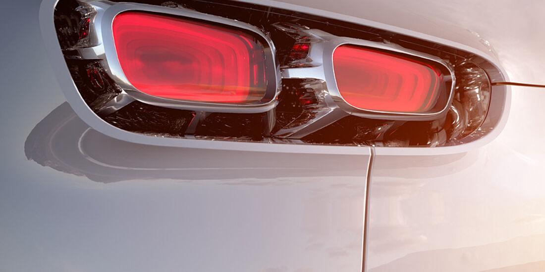 00/2011 IAA 2011 Citroen Tubik Conceptcar, Rücklicht