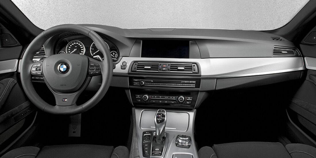 01/2012, BMW M 550d xDrive, Cockpit