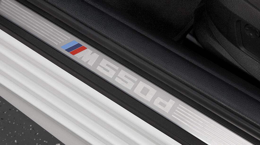 01/2012, BMW M 550d xDrive, Einstiegsleiste