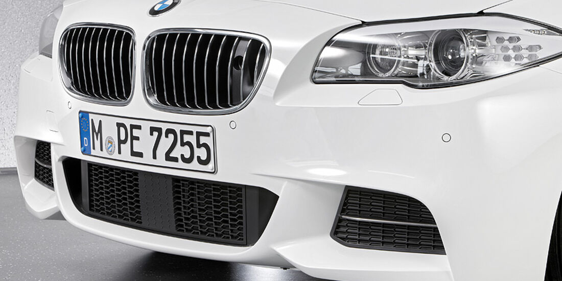 01/2012, BMW M 550d xDrive, Frontschürze