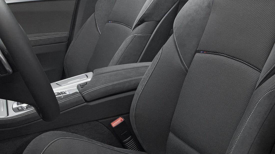 01/2012, BMW M 550d xDrive, Sitze, Innenraum