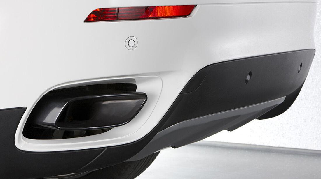 01/2012, BMW X6 M50d, Auspuff