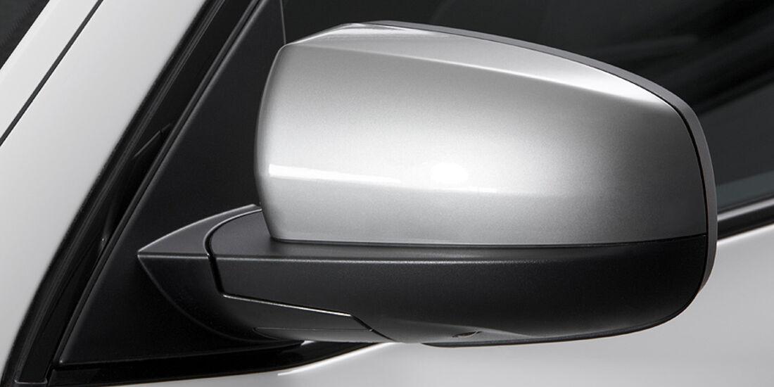 01/2012, BMW X6 M50d, Außenspiegel