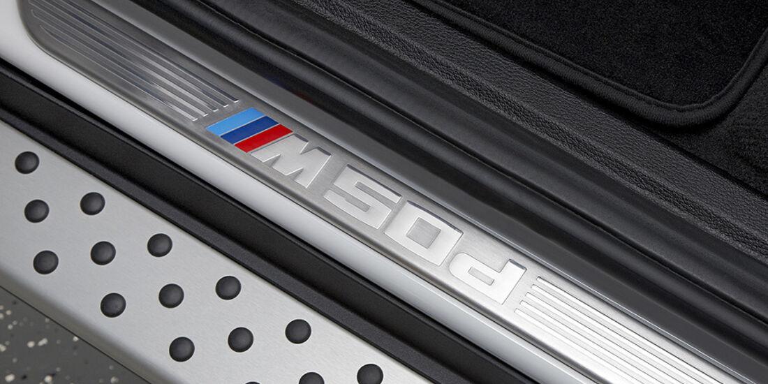 01/2012, BMW X6 M50d, Einstiegsleiste