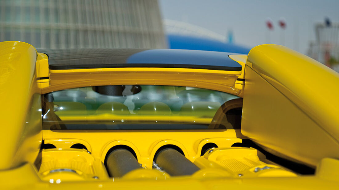 01/2012, Bugatti Veyron 16.4. Grand Sport Qatar, Dach