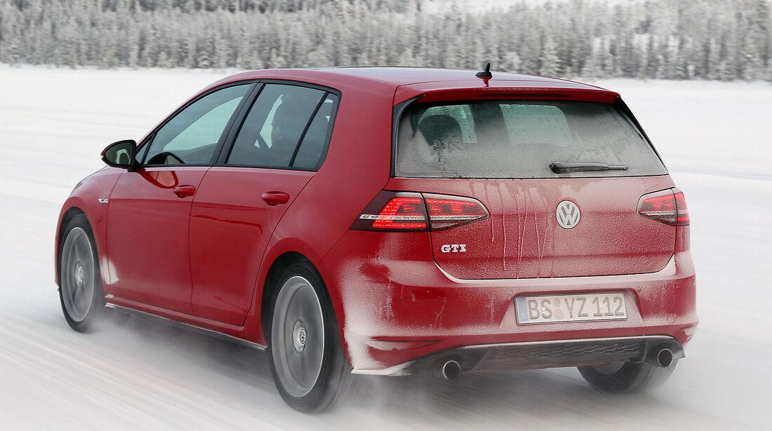 01/2013 VW Golf Abnahmefahrten Polarkreis, Golf GTI