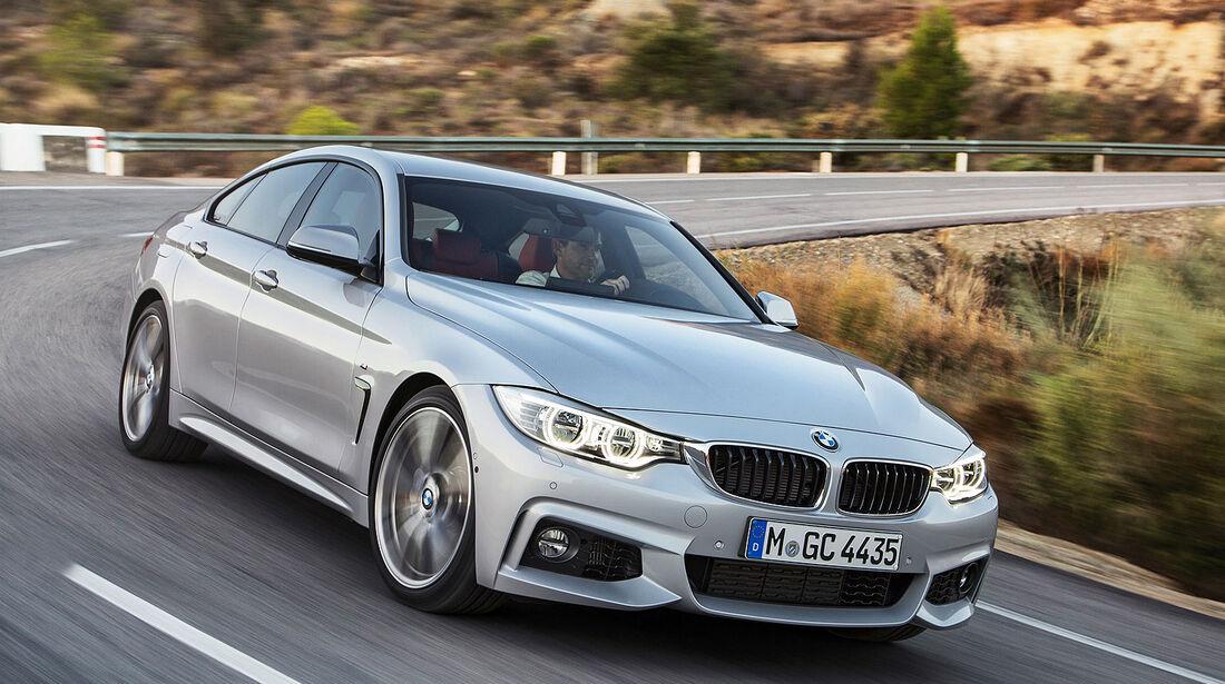 01/2014 BMW 4er Gran Coupé Sperrfrist 2.2.2014 00.00 Uhr