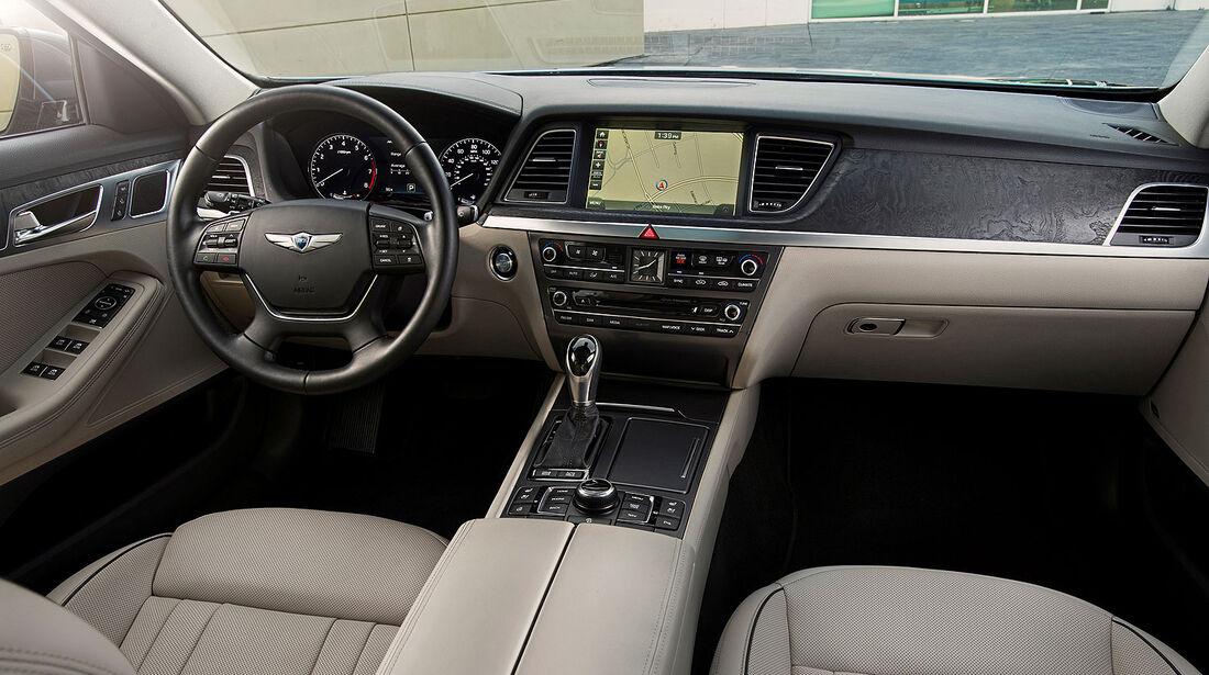 01/2014, Hyundai Genesis Detroit Motor Show