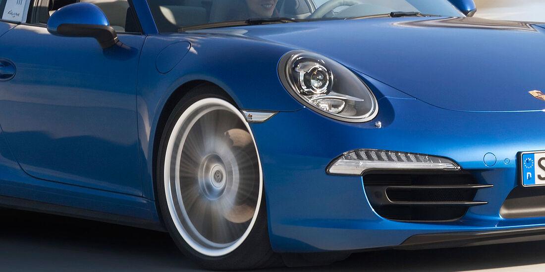01/2014, Porsche 911 Targa Sperrfrist 13.1.2014 18.30 Uhr