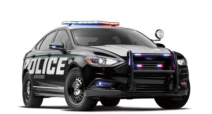 01/2018, Ford automome Polizeiautos