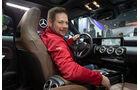 01/2019, Jochen Knecht im neuen Mercedes CLA auf der CES Las Vegas 2019