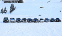 0111, ams 02/2011, Traktionsvergleich, Allradantrieb, Schnee