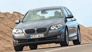 0111, ams 03/2011, Lichttest, BMW 5er