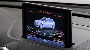 02/2012 Audi A3 , MMI Display