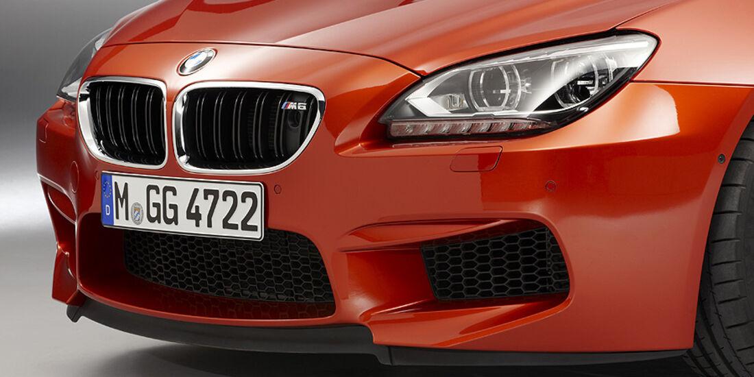 02/2012 BMW M6 Coupé, Front