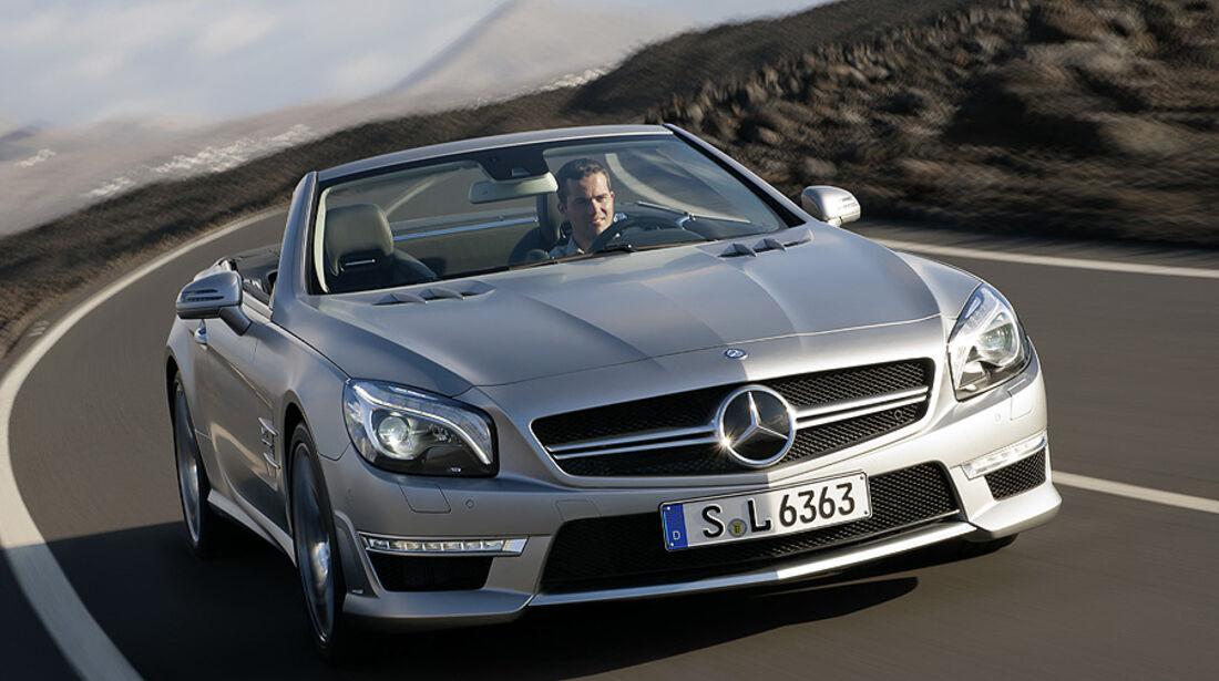 02/2012 Mercedes SL 63 AMG