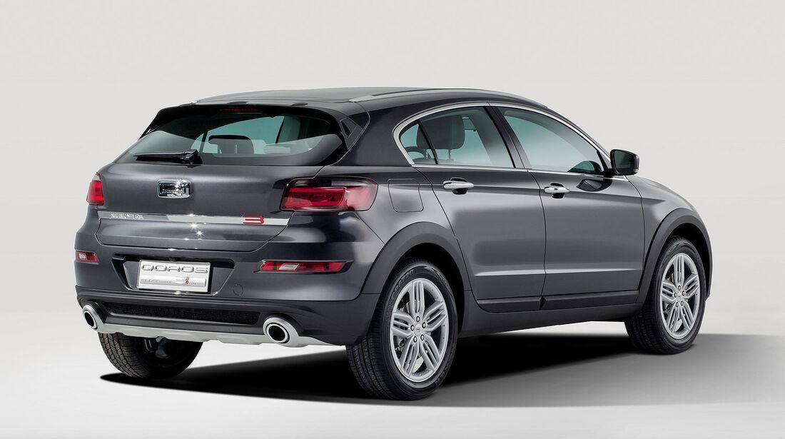 02/2013, Qoros 3 Sedan Innenraum