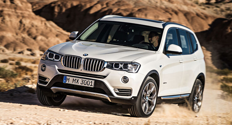 02/2014, BMW X3 Facelift Sperrfrist 6.2.2014 Genf