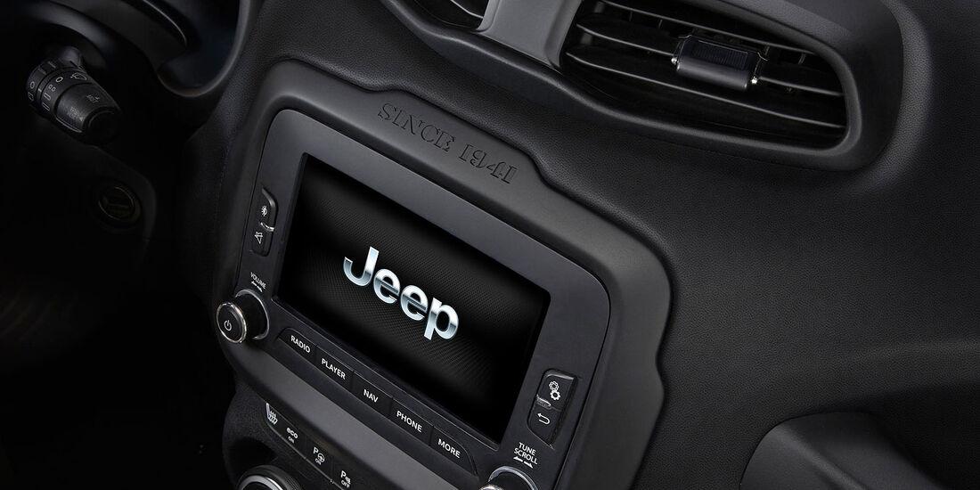 02/2014, Jeep Renegade, Innenraum