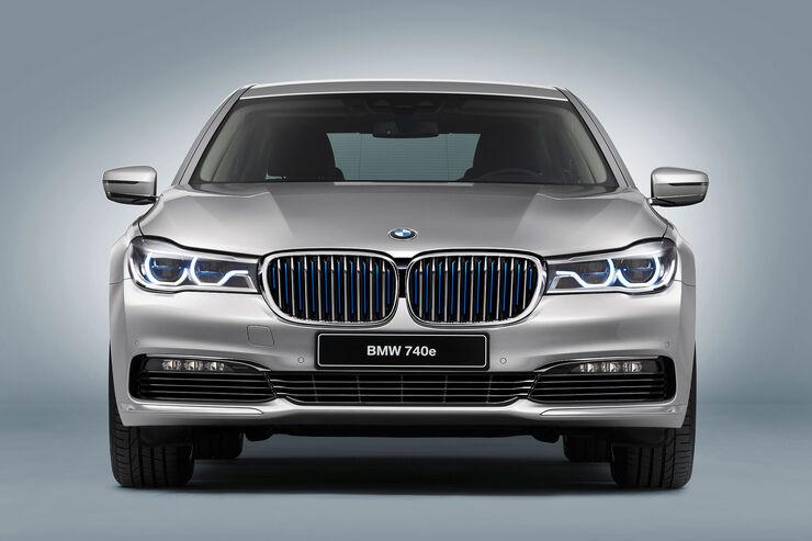 BMW 740e IPerformance Hybrid 7er Mit 21 Liter Verbrauch