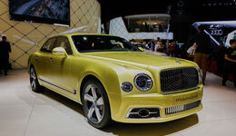 02/2016 Bentley Mulsanne 23.2.2016 Sperrfrist Speed