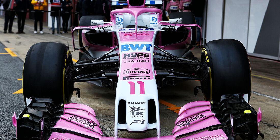 02/2018, Force India VJM11.