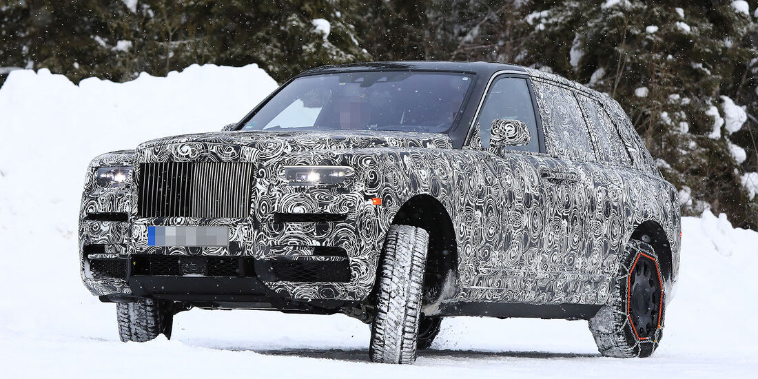 02/2018, Rolls-Royce Cullinan Erlkönig