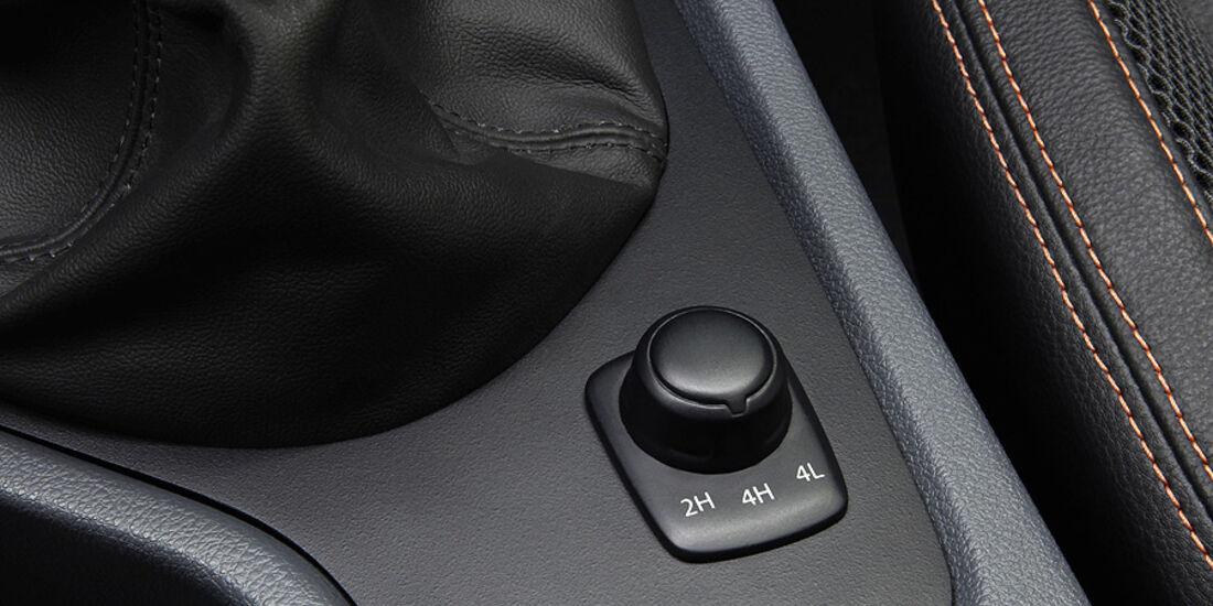 03/11 Ford Ranger Wildtrak, Genf, Schalter Allradantrieb