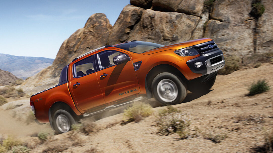 03/11 Ford Ranger Wildtrak, Genf