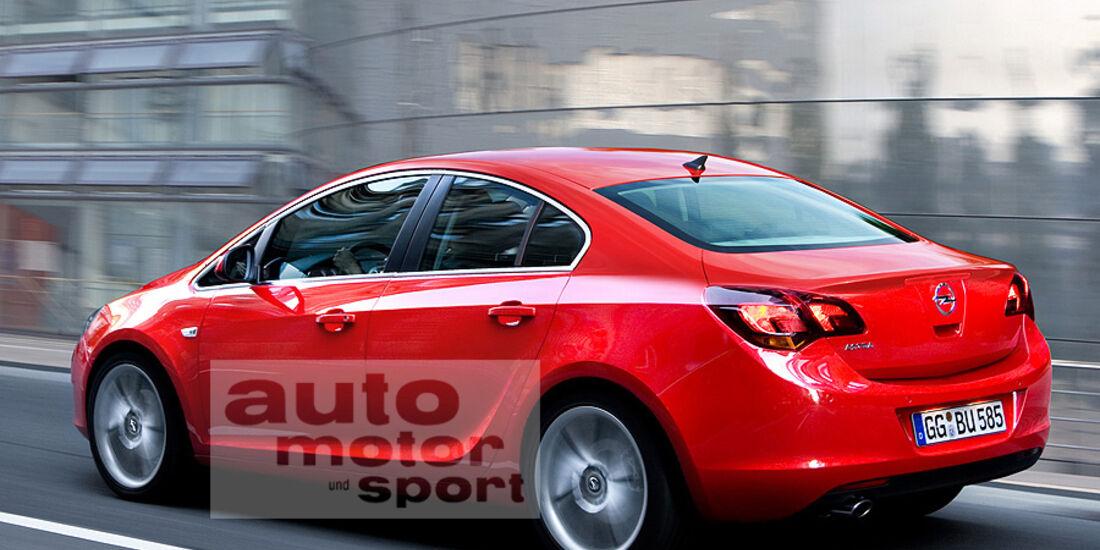 03/11 Opel Astra Stufenheck