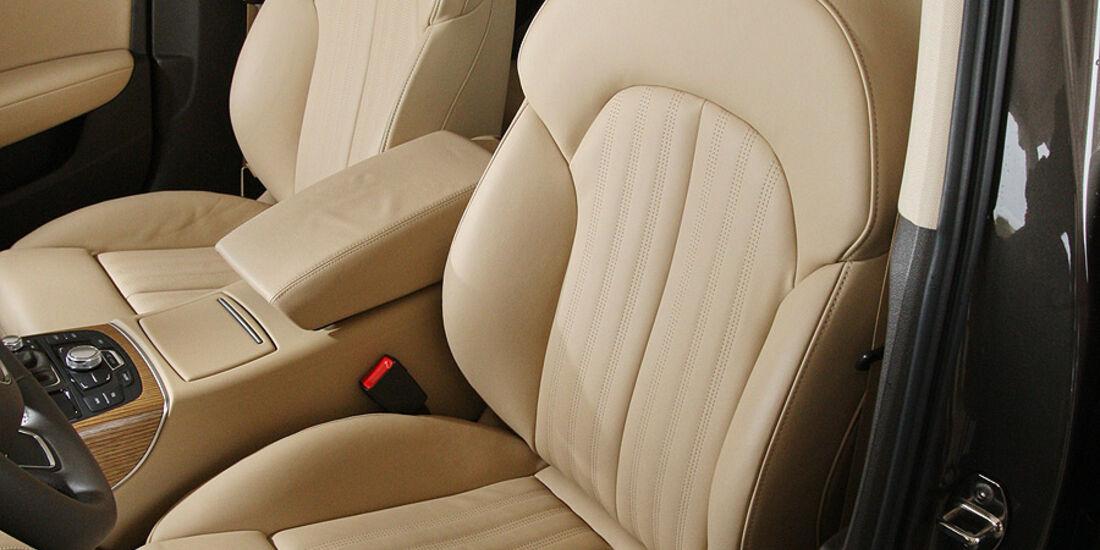 03/2011  Audi A6 3.0 TDI, aumospo 06/2011, Allrad, Sitze vorn