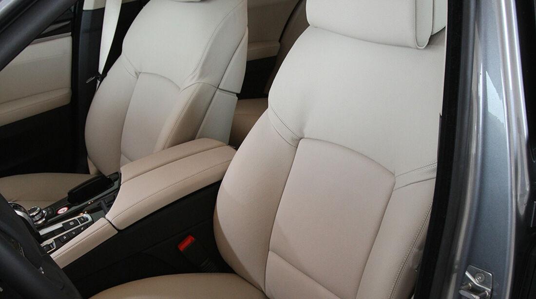 03/2011 BMW 530d, aumospo 06/2011, Allrad, Sitze