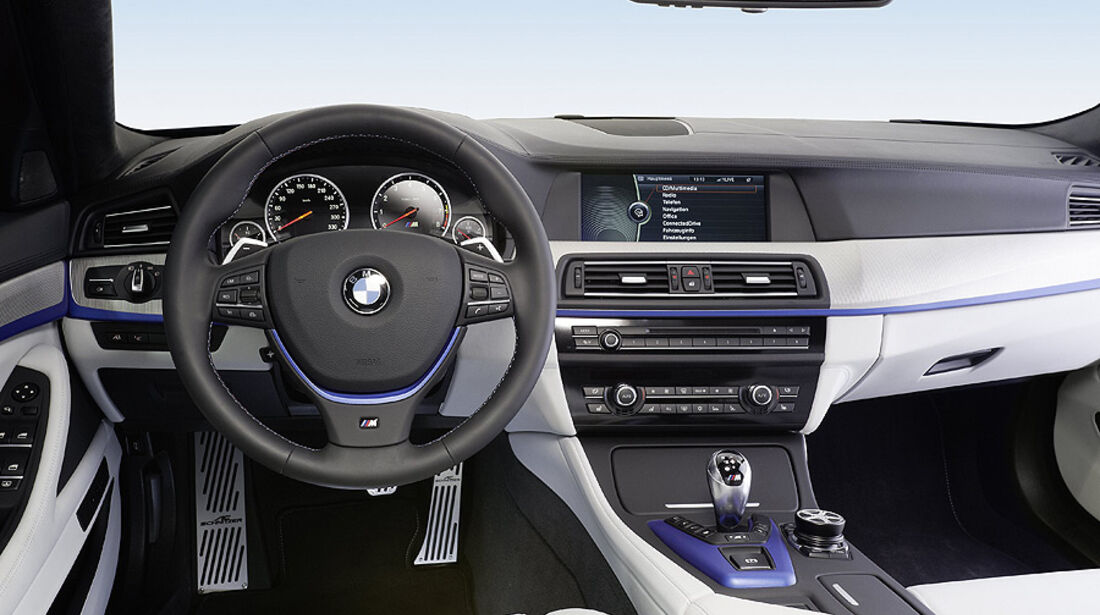 03/2012, Schnitzer BMW 5er M5 ACS 5 Genf, Innenraum