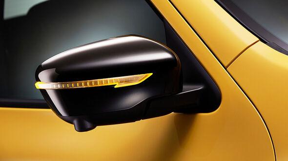 03/2014, Nissan Juke Facelift Genf, Außenspiegel