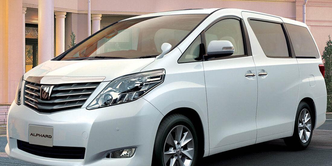 03/2014, Toyota Alphard Japan