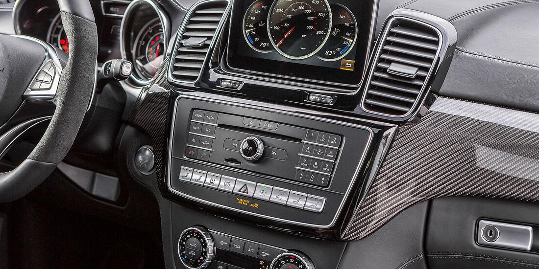 03/2015 Mercedes GLE 63 AMG Sperrfrist 26.3.2015 New York