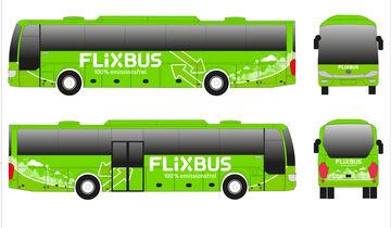03/2018, Flixbus Elektrobus Skizze