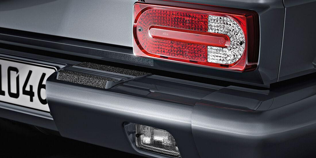 04/2012, Mercedes G-Klasse, Rückleuchte